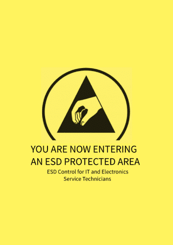 ESD CONTROL FOR IT AND ELECTRONICS SERVICE TECHNICIANS