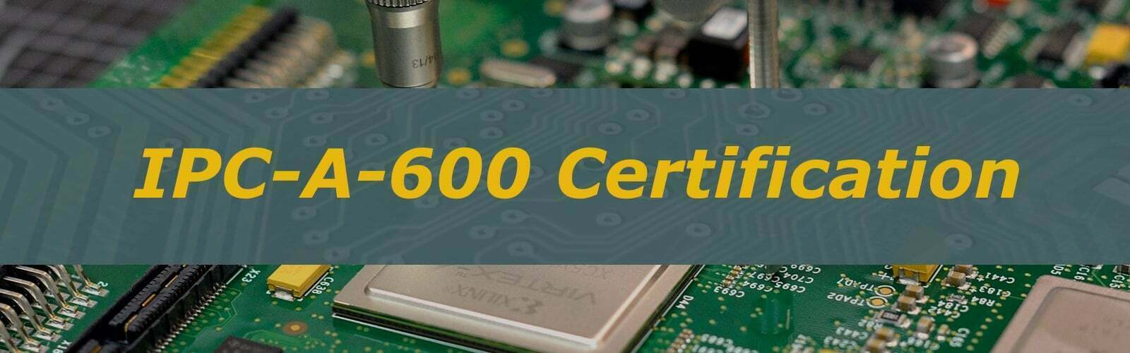 CERTIFICATION IPC-A-600 CERTIFIED IPC TRAINER (CIT)