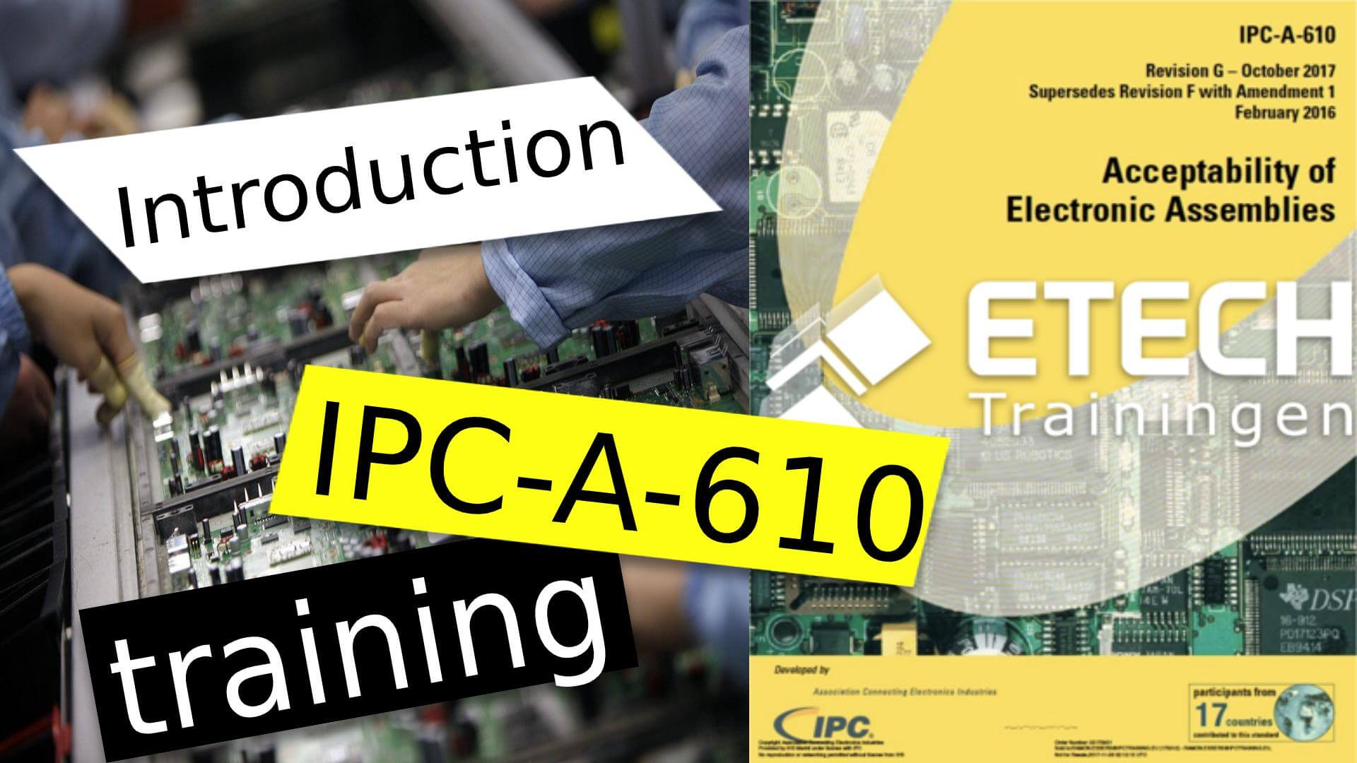 CERTIFICATION IPC-A-610 CERTIFIED IPC TRAINER (CIT)