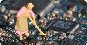 Cleaning of PCB'S and PCA'S
